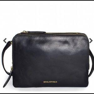 Royal Republiq brand leather shoulder bag